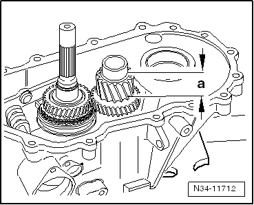 Assembling gearbox as well Dismantling and assembling input shaft as well Disassembling and assembling the reverse shaft together with Transaxle furthermore Dismantling and assembling output shaft. on manual transmission collar