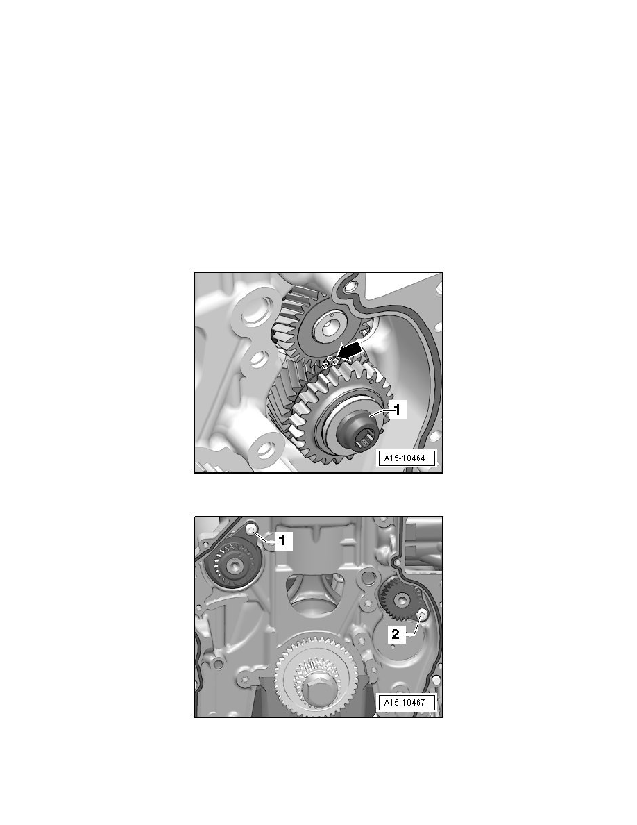 Engine, Cooling and Exhaust > Engine > Timing Components > Balance Shaft >  Component Information > Service and Repair > Intake Camshaft Balance Shaft,  ...