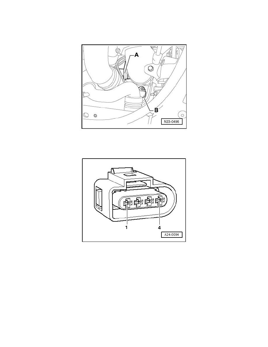 Volkswagen Workshop Manuals Touareg V10 50l Dsl Turbo Bkw 2004 Engine Diagram Delivery And Air Induction Sensors Switches Fuel Boost Sensor Component Information Diagrams Page 6154