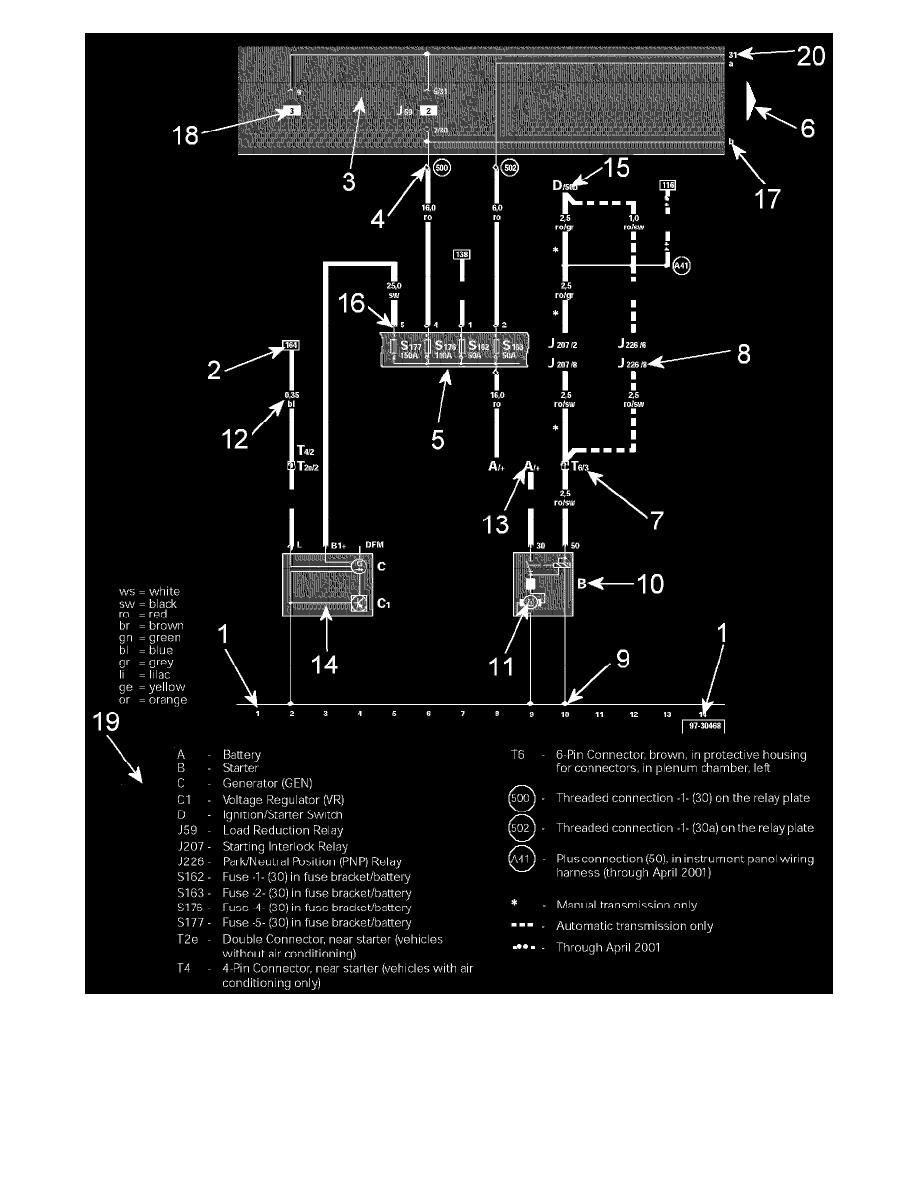 Volkswagen Workshop Manuals  U0026gt  Touareg V6