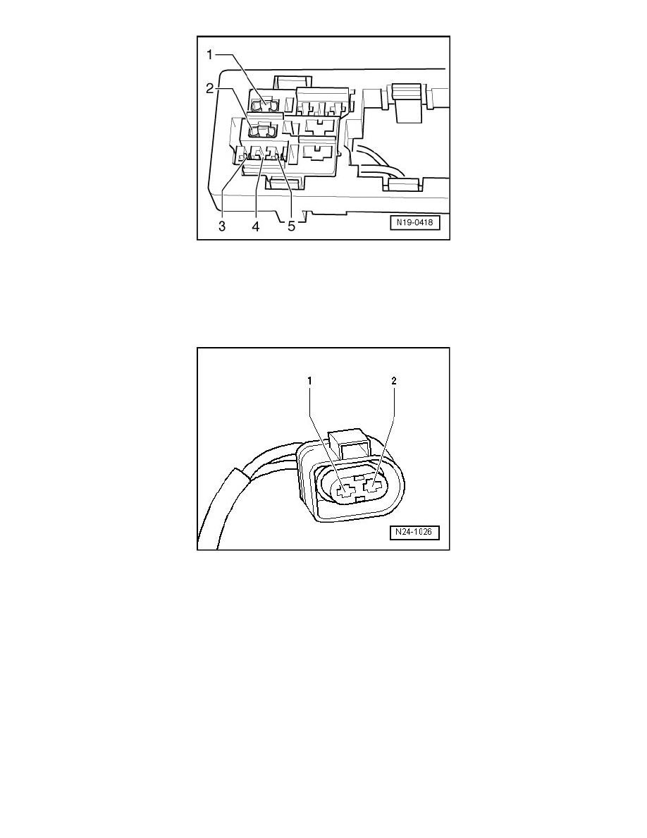 Volkswagen Workshop Manuals Touareg V6 32l Bmx 2005 Engine 2012 Vw Diagram Cooling And Exhaust System After Run Coolant Pump Component Information Diagrams Page 4579