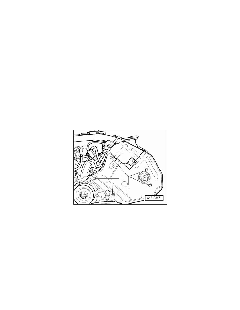 Volkswagen Workshop Manuals Touareg V8 42l Bhx 2004 Engine Diagram Cooling And Exhaust Camshaft Lifters Push Rods Component Information Service Repair Procedures Page