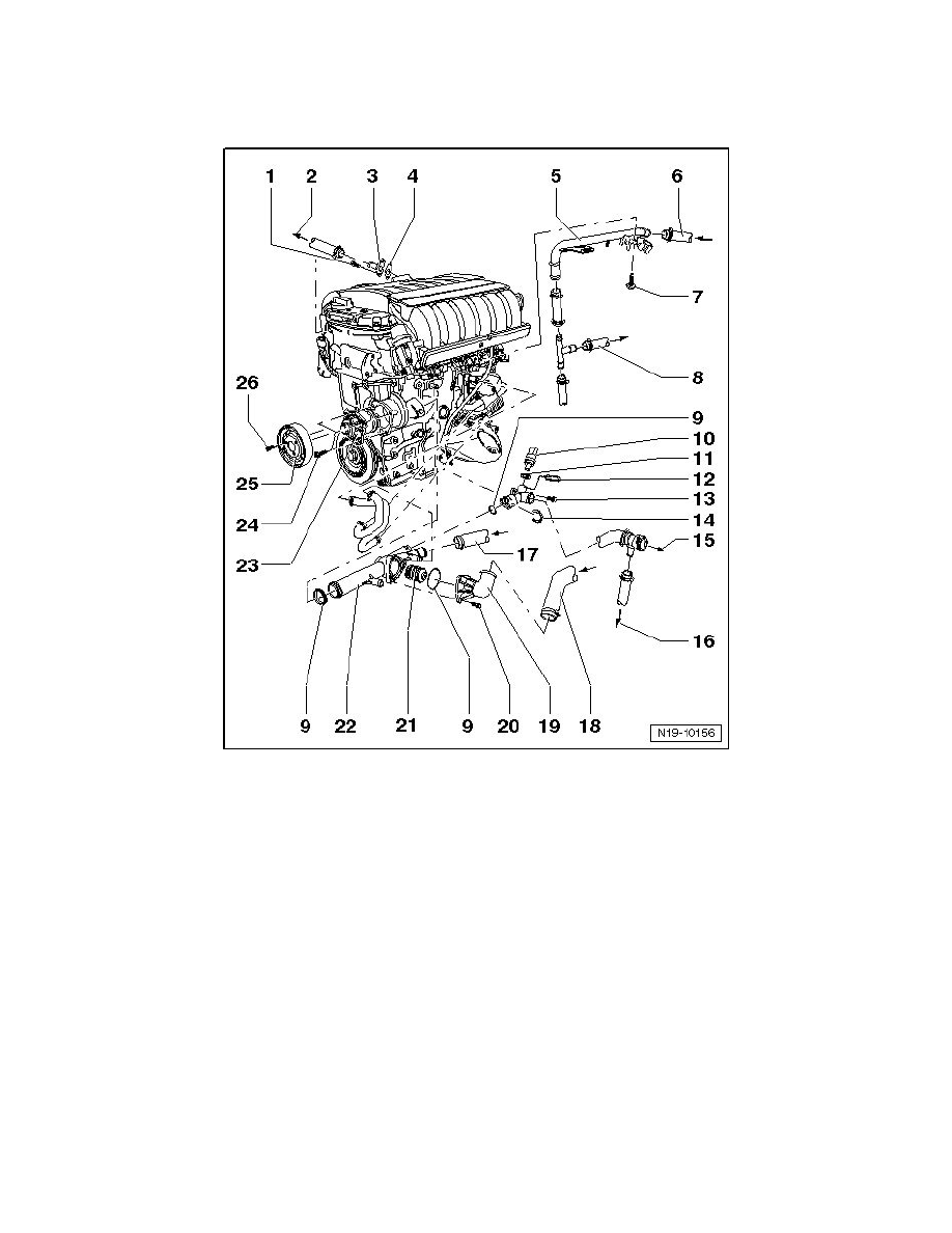 Engine, Cooling and Exhaust > Cooling System > Thermostat, Engine Cooling >  Component Information > Service and Repair