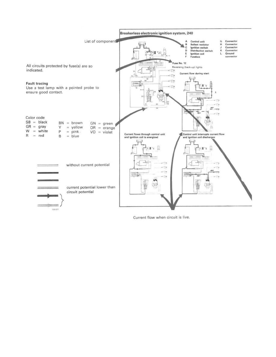 Volvo 240 Cruise Control Wiring Diagram Schematic Diagrams Here Are The For Both Available Radio39s In This Workshop Manuals U003e L4 2127cc 2 1l Sohc B21a Can 1984 Fuel System