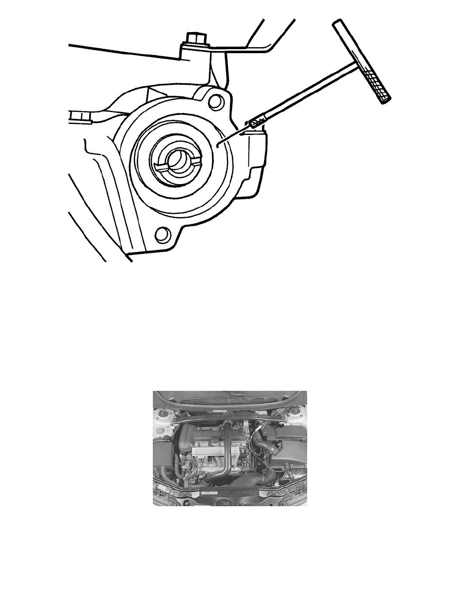 volvo workshop manuals v70 2 5t l5 2 5l turbo vin 59 b5254t2 2006 Volvo Exhaust Flange engine cooling and exhaust engine seals and gaskets engine camshaft oil seal ponent information service and repair camshaft seal variable